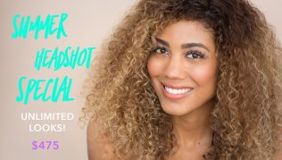 **Summer Headshot Special!** UNLIMITED Looks for only $495!