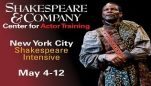 $200 off tuition for week-long NYC Shakespeare Intensive