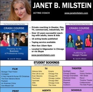 Janet B. Milstein: Private Acting Coach