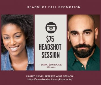 KKP Productions offering a $50 Headshot for Actors in Need