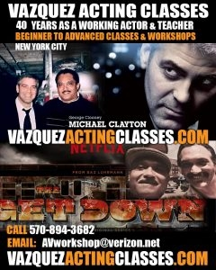 Alberto Vazquez Actors Workshop
