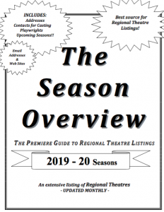 New Seasons ALL listed here! THE SEASON OVERVIEW