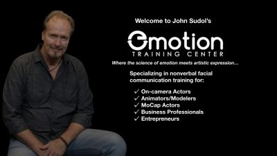 John Sudol's Emotion Training Center|Facial Expression Training for Actors Animators Directors