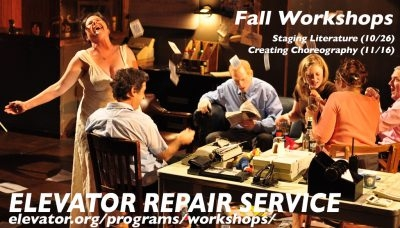 Workshop with Elevator Repair Service Theater
